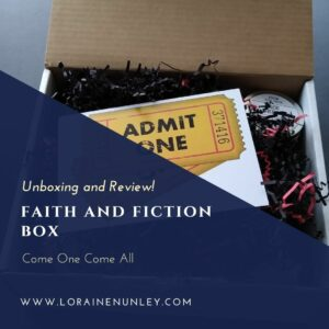 Unboxing and Review: Faith and Fiction Box (Come One Come All)
