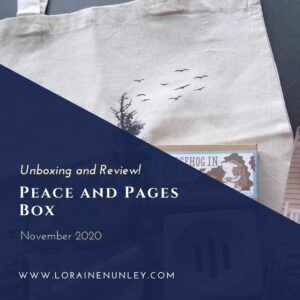 Unboxing and Review: Peace and Pages Box (November 2020)