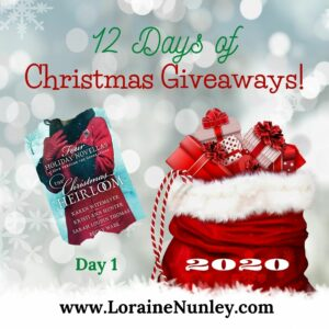 12 Days of Christmas Giveaways 2020 - Day 1 | www.LoraineNunley.com