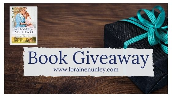 Book Giveaway: A Home for My Heart by Anne Mateer