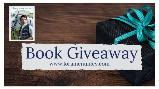 Book Giveaway: A Most Noble Heir by Susan Anne Mason
