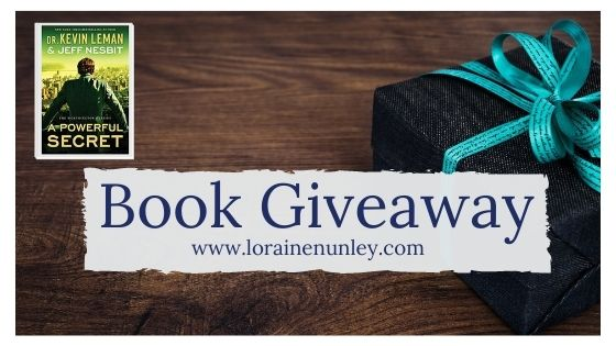 Book Giveaway: A Powerful Secret by Dr. Kevin Leman and Jeff Nesbit