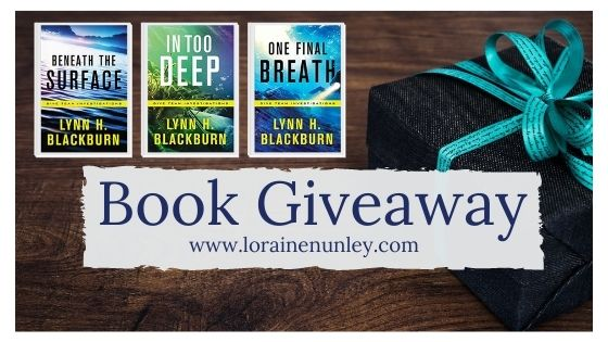 Book Giveaway: Dive Team Investigations series by Lynn H Blackburn
