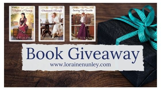 Book Giveaway: American Heiresses series by Jen Turano