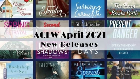 April 2021 New Releases from ACFW Authors