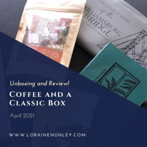 Unboxing and Review of the April 2021 Coffee and A Classic Subscription Box