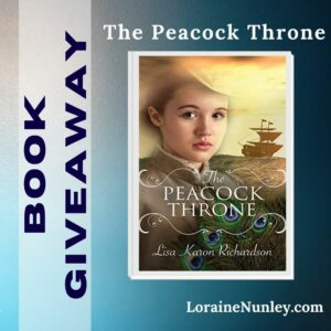 Giveaway at Loraine Nunley's website: The Peacock Throne by Lisa Karon Richardson #bookgiveaway