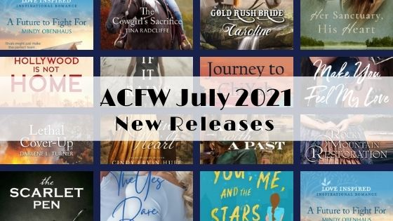 July 2021 New Releases from ACFW Authors