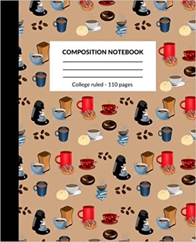 Book Cover: Composition Notebook: Coffee Cup