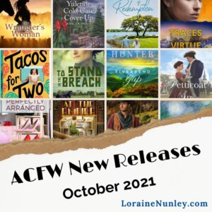 ACFW New Releases for October 2021