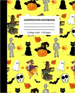 Book Cover: Composition Notebook: Halloween